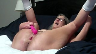 Hot Milf Vibes Wet Pussy Gets Fucked Ends In Huge Multiple Squirts