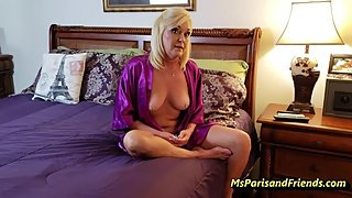 Step-Mommy Gives Up Pussy and Ass with Ms Paris Rose