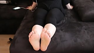 Sexy High Heels Foot POV review