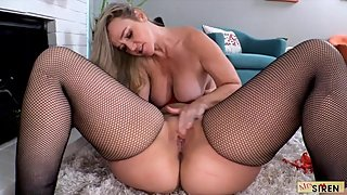 Naughty MILFS Play with Toys for Christmas