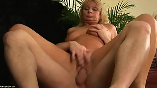 Czech mature old mom Rita