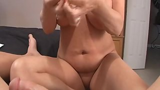 Rachel Steele MILF751 - Young voyeur drained of cum