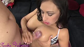 Claudia Valentine has a mouth full of Cock