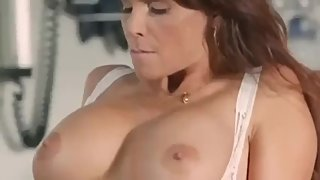 Doctor mom teaches stepson to fuck