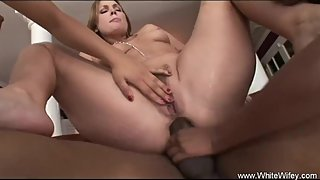 Interracial Loving With BBC Wife Together with her Friends