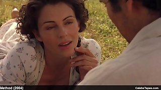 celebrity actress Elizabeth Hurley hot sex action in movie