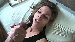 Shameless mature stepmom convinced her stepson fuck her nice ass