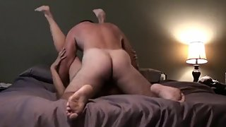 Husband films his cheating wife gets hard fucked by her new boss