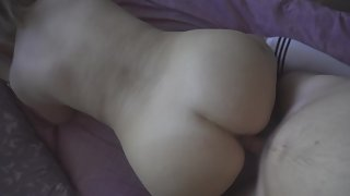 High heels mature doggystyle 4k POV