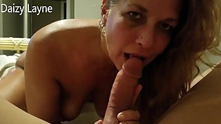 My Hot Incredible Stepmom catches me Jerking Off! Helps Me Get Hard
