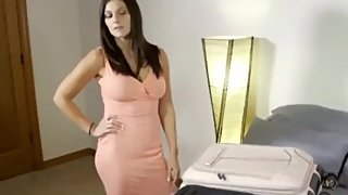 Taboo! Stepson with big cock shares the bed with his naughty stepmom