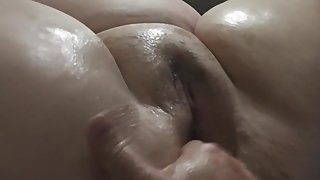 Wife's soaking wet pussy gets a good fingering