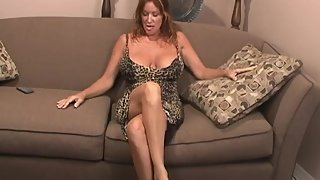 Rachel Steele MILF45 - Horny Cougar jerk off instruction