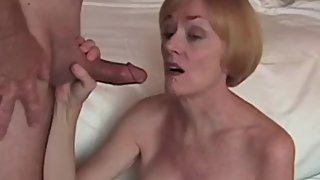 Amateur granny Plays With Huge Cock From Horny Step Son
