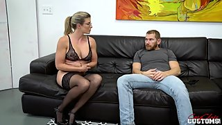 Busty Step Sister Plays Truth or Dare with Brother - Cory Chase